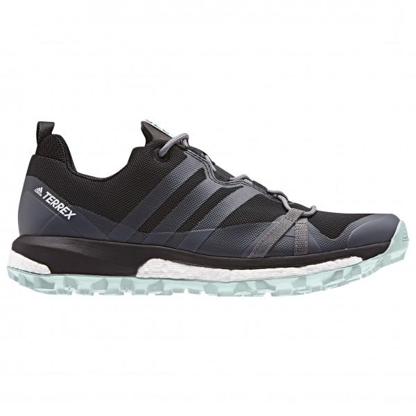 adidas - Women's Terrex Agravic - Trailrunningschuhe Core Black / Grey Three F17 / Ash Green S18