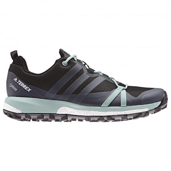 adidas - Women's Terrex Agravic GTX - Trailrunningschuhe Carbon S18 / Grey Three F17 / Ash Green S18