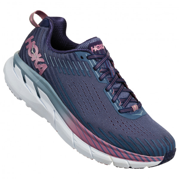 Hoka One One Clifton 5 Running Shoe - Black Iris / Storm Blue | Running shoes