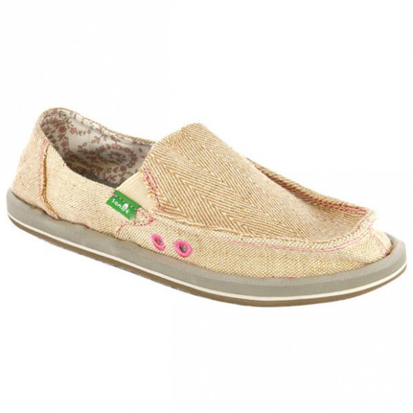 Sanuk - Women's Sidewalk Surfer Donna Hemp - Slipper