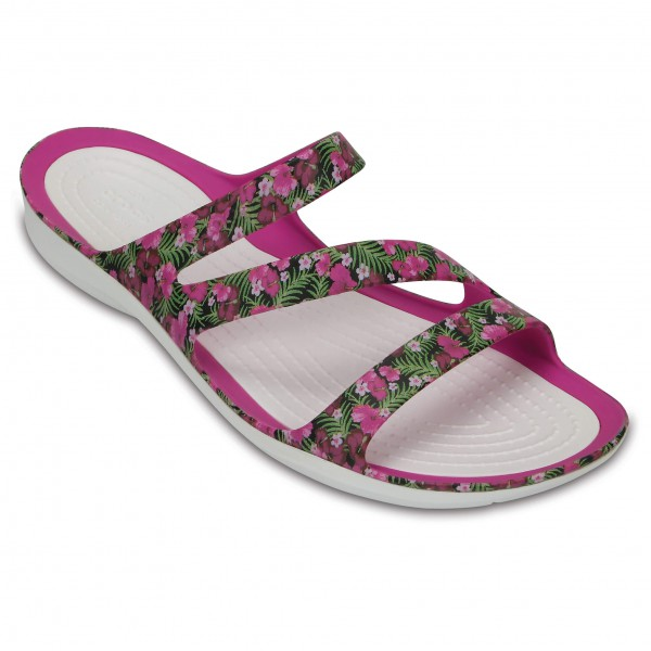 Crocs - Women's Swiftwater Graphic Sandal - Sandals