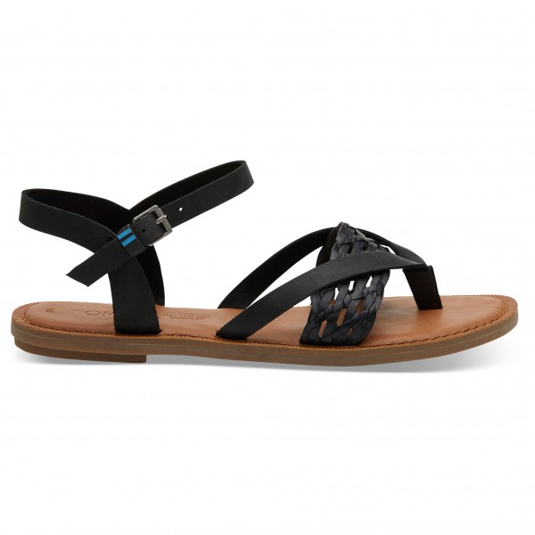 TOMS - Women's Lexie Leather Synthetic Braid - Sandals