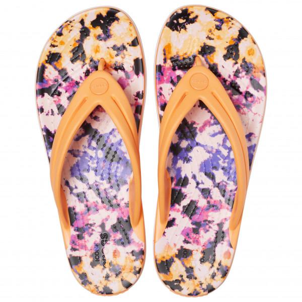 Women's Crocband Tie Dye Mania Flip - Sandals