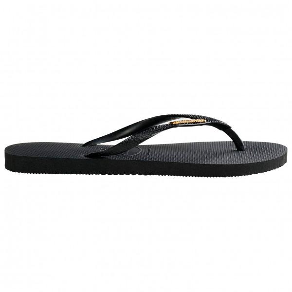 Women's Slim Logo Metallic - Sandals