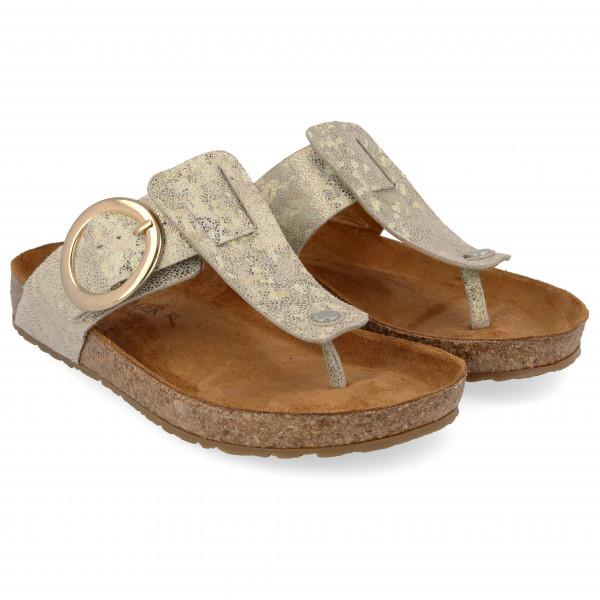 Women's Round Buckle Corinna - Sandals
