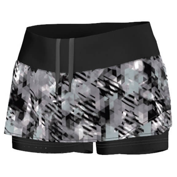 Adidas - Women's Trail 2 In 1 Short - Juoksuhousut