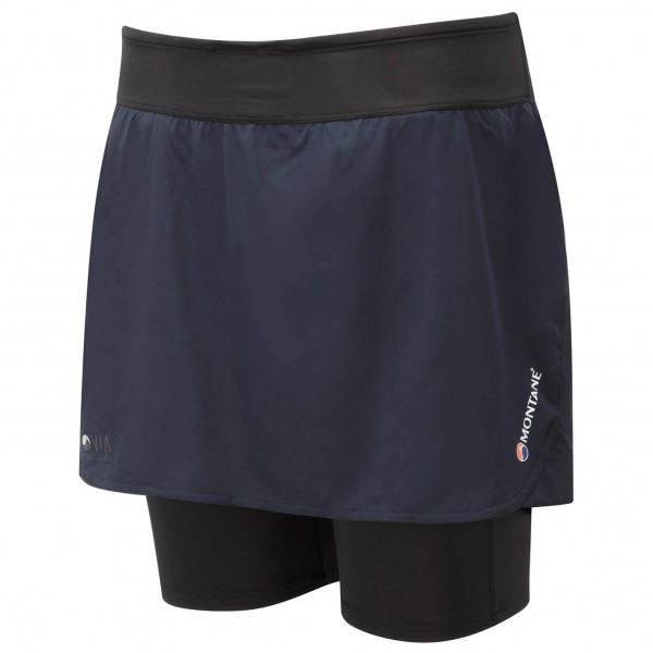 Montane - Women's Trail 2SK Sort - Jupe de running