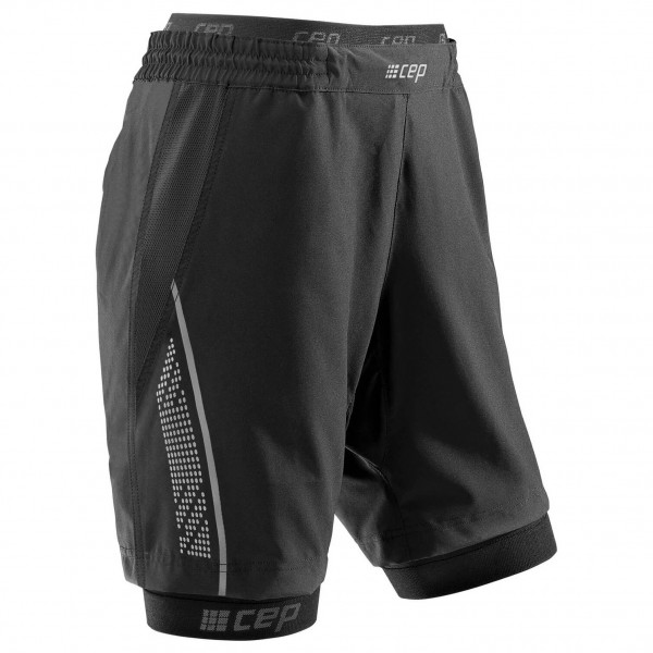 CEP - Women's 2 In 1 Run Shorts - Juoksuhousut