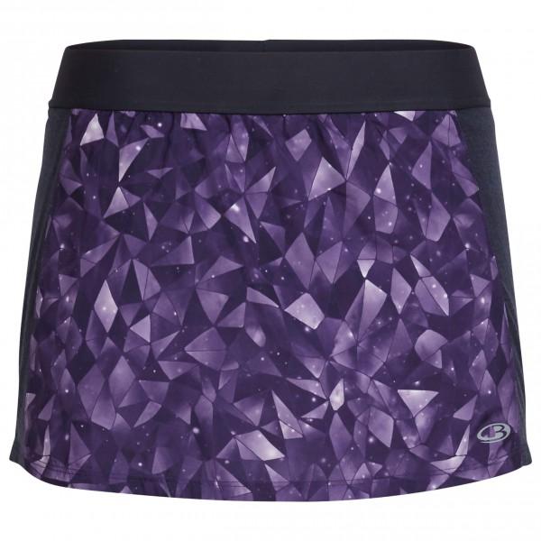 Icebreaker - Women's Comet Skort Lattice Sky - Running skirt
