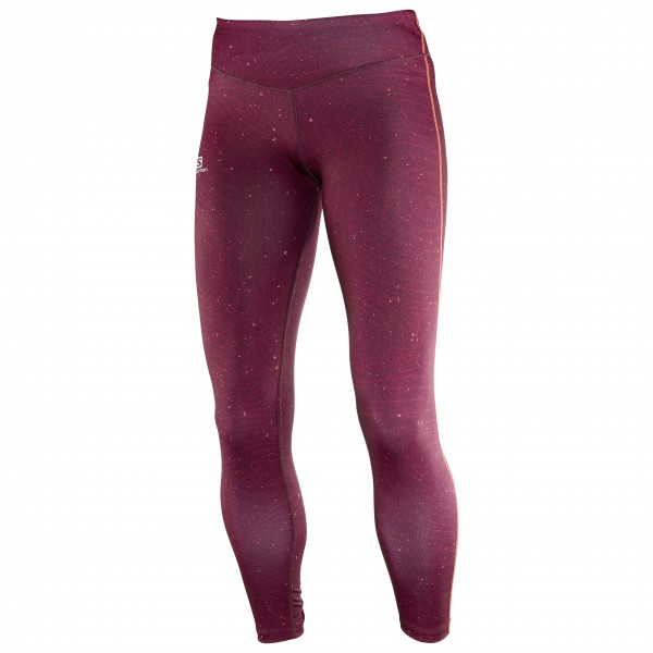 Salomon - Women's Elevate Long Tight - Hardloopbroeken
