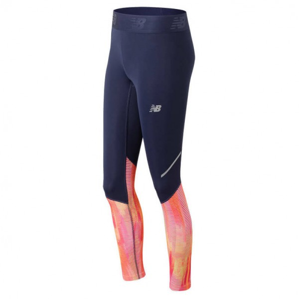New Balance - Women's Accelerate Tight Printed - Running trousers