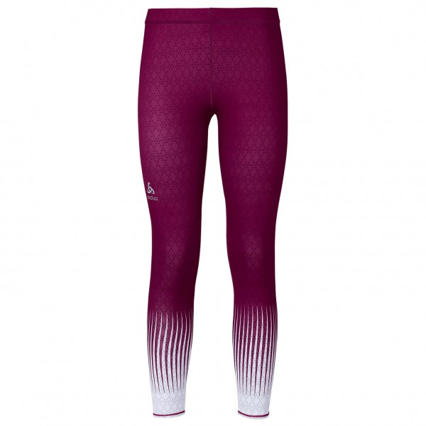 Odlo - Women's Tights Short Cut Insideout Ebe - Juoksuhousut