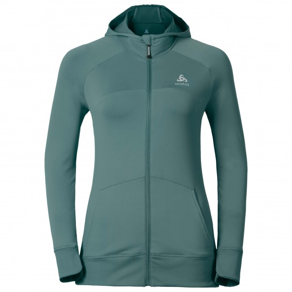 Odlo - Women's Zetta Hoody Midlayer Full Zip - Running jacke