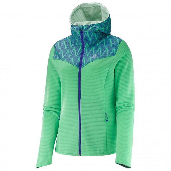 Salomon - Women's Elevate Full-Zip Mid - Joggingjack