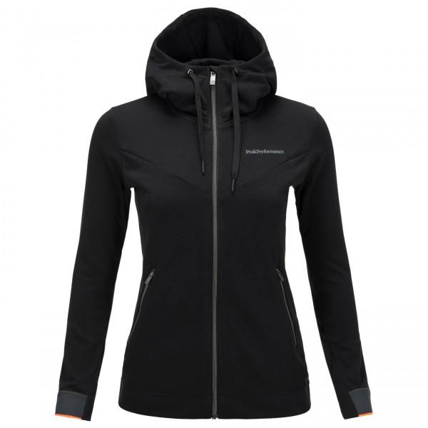 Peak Performance - Women's Structure Zip Hood - Laufjacke