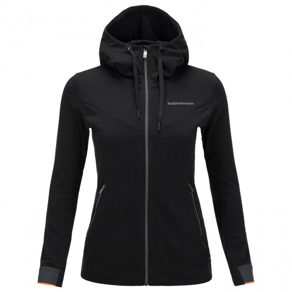 Peak Performance - Women's Structure Zip Hood - Running jack