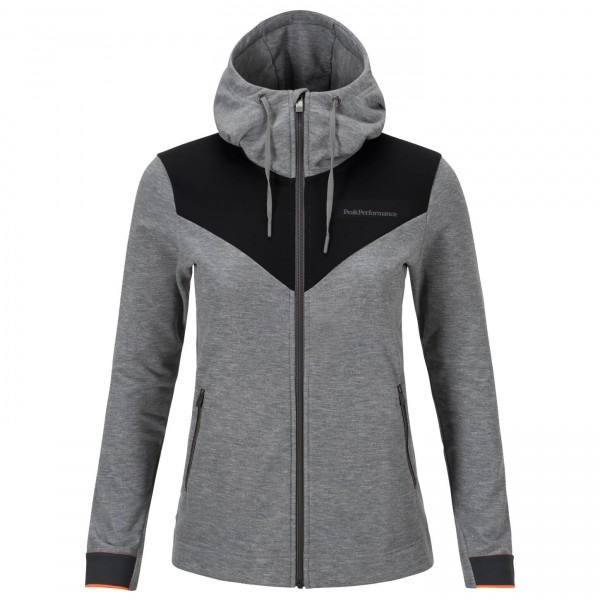 Peak Performance - Women's Structure Zip Hood - Laufjacke