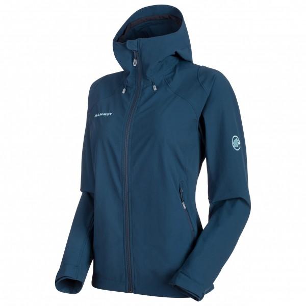 Mammut - Runbold Trail SO Hooded Jacket Women - Løbejakke