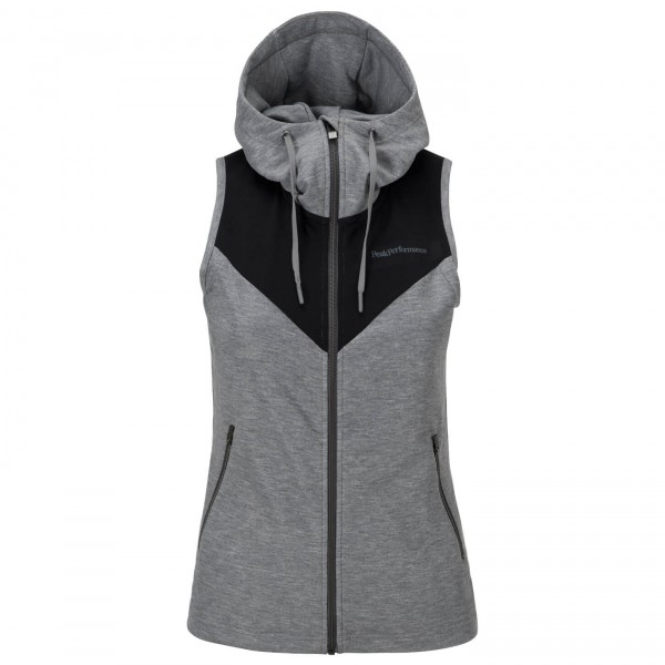 Peak Performance - Women's Structure Hooded Vest - Veste san