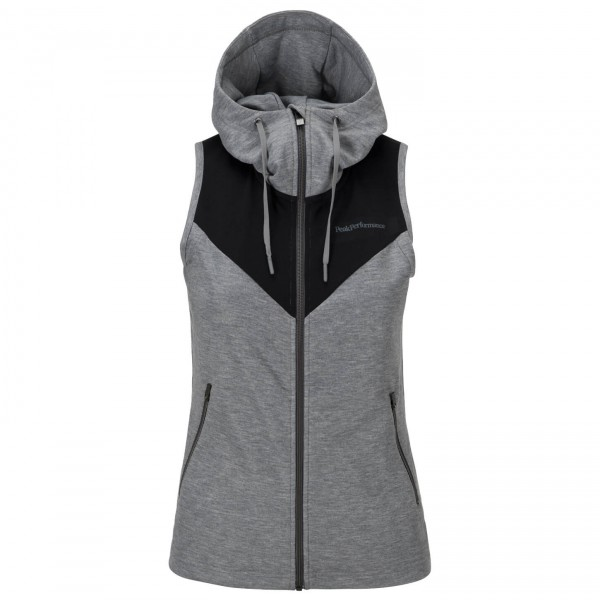 Peak Performance - Women's Structure Hooded Vest - Laufweste