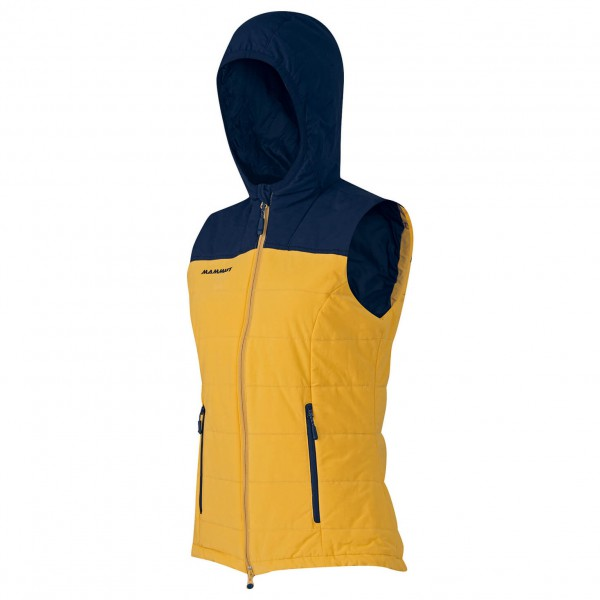 Mammut - Women's Dyno IS Hooded Vest - Tekokuituliivi