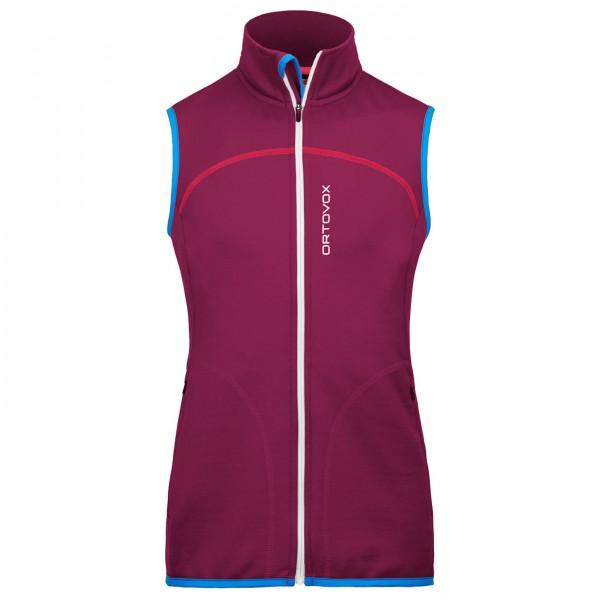 Ortovox - Women's Fleece (Mi) Vest - Polaire sans manches