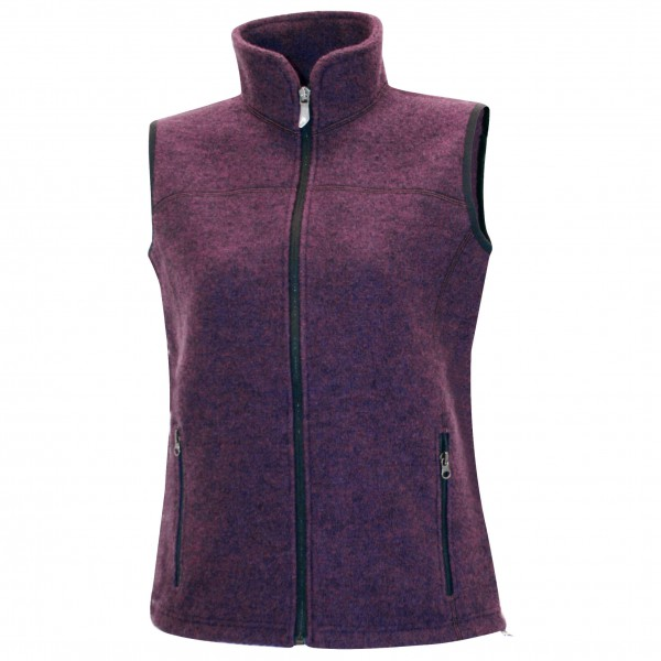 Ivanhoe of Sweden - Women's Beata Vest - Merino bodywarmers