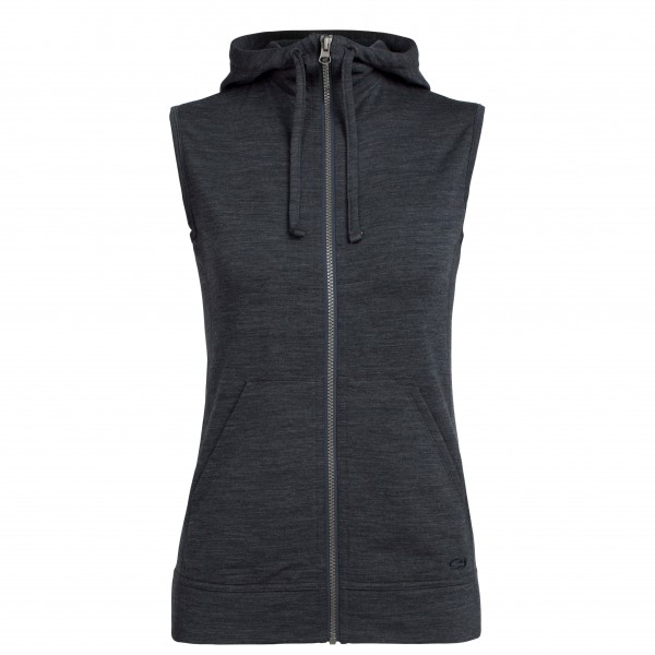 Icebreaker - Women's Dia Hooded Vest - Merinoväst