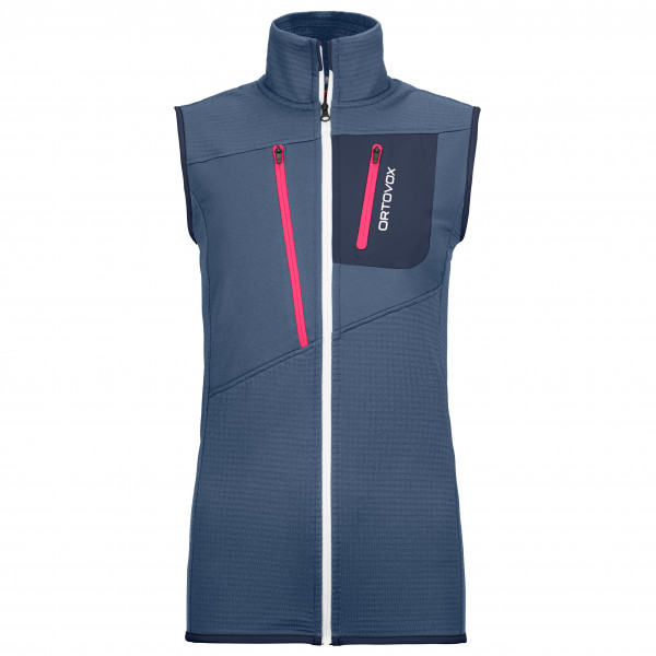Ortovox - Women's Fleece Grid Vest - Merinoweste