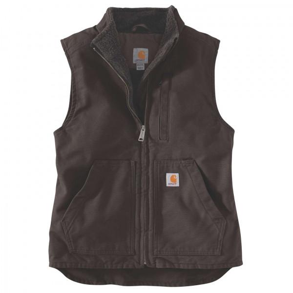 Carhartt - Women's Sherpa Lined Mock Neck Vest - Fleece vest