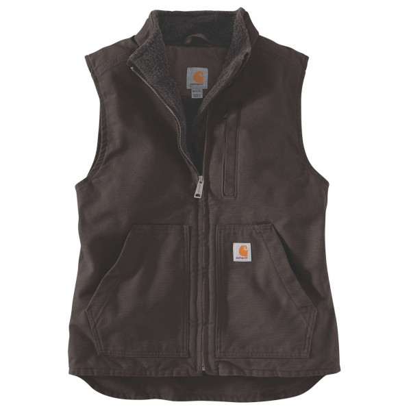 Carhartt - Women's Sherpa Lined Mock Neck Vest - Fleecebodywarmer