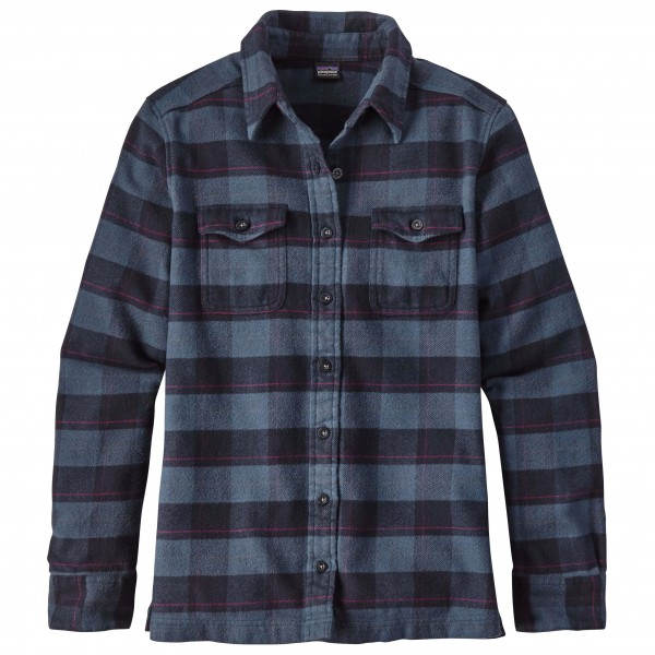 Patagonia - Women's L/S Fjord Flannel Shirt - Blusar