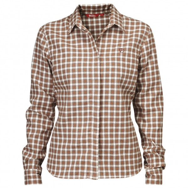 Fjällräven - Women's Stina Flannel Shirt - Naisten paita