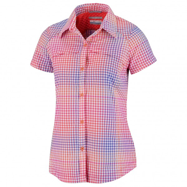 Columbia - Women's Silver Ridge Plaid SS Shirt - Bluse