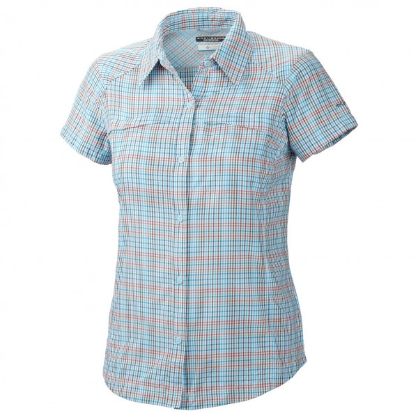 Columbia - Women's Silver Ridge Plaid SS Shirt - Blouse