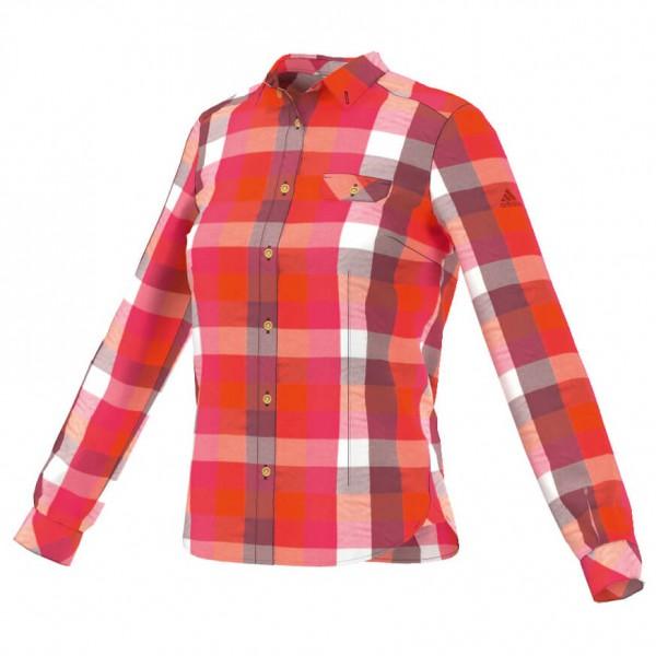 Adidas - Women's ED Check LS - Naisten paita