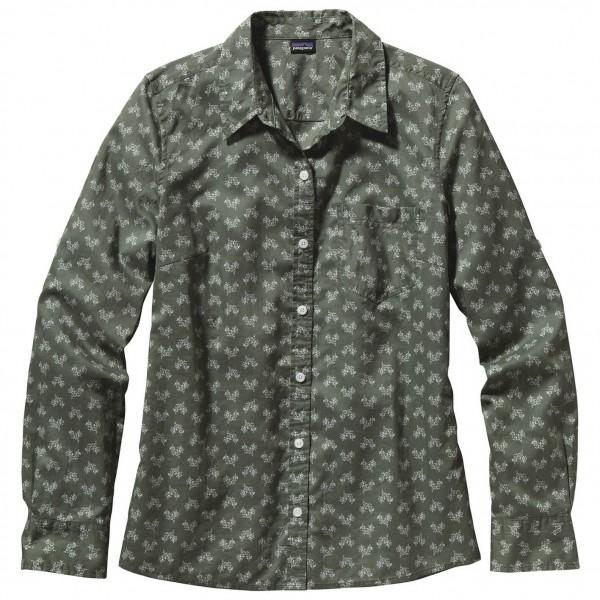 Patagonia - Women's LS Brookgreen Shirt - Naisten paita