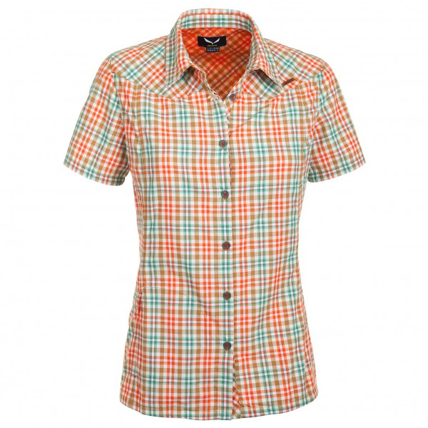 Salewa - Women's Valparola Dry S/S Shirt - Bluse