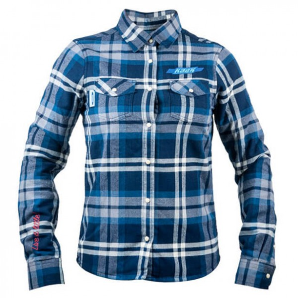 Kask of Sweden - Women's Flannel Shirt - Blouse