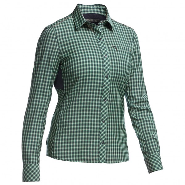 Icebreaker - Women's Terra LS Plaid - Blouse