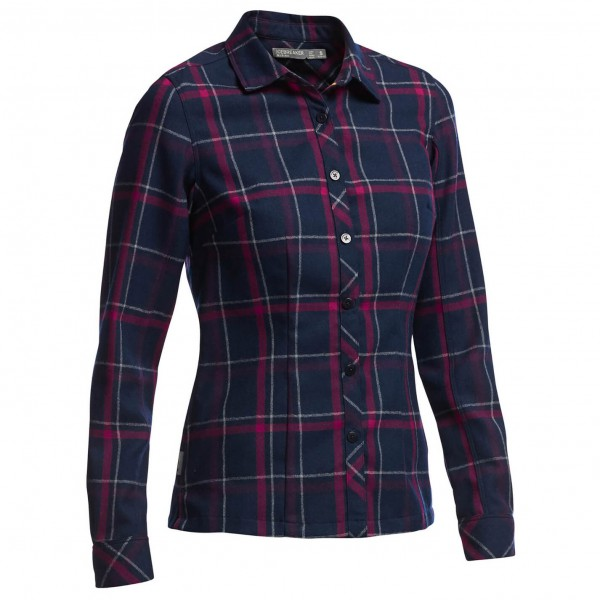 Icebreaker - Women's Laurel L/S Shirt Plaid - Paita