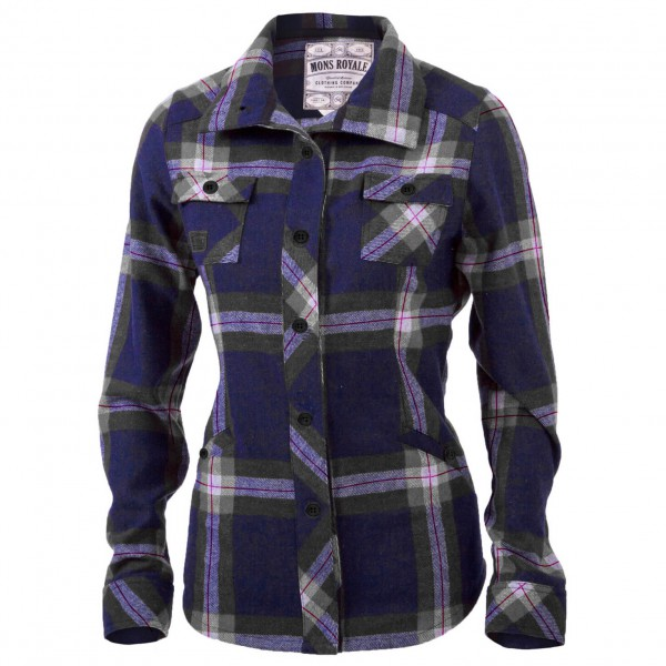 Mons Royale - Women's Mountain Shirt - Overhemd