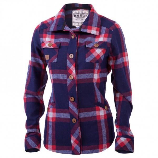 Mons Royale - Women's Mountain Shirt - Hemd