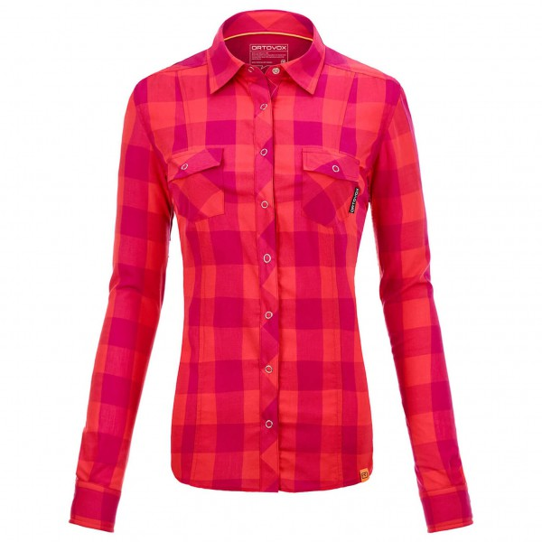 Ortovox - Women's L/S Stretch Back Shirt - Naisten paita