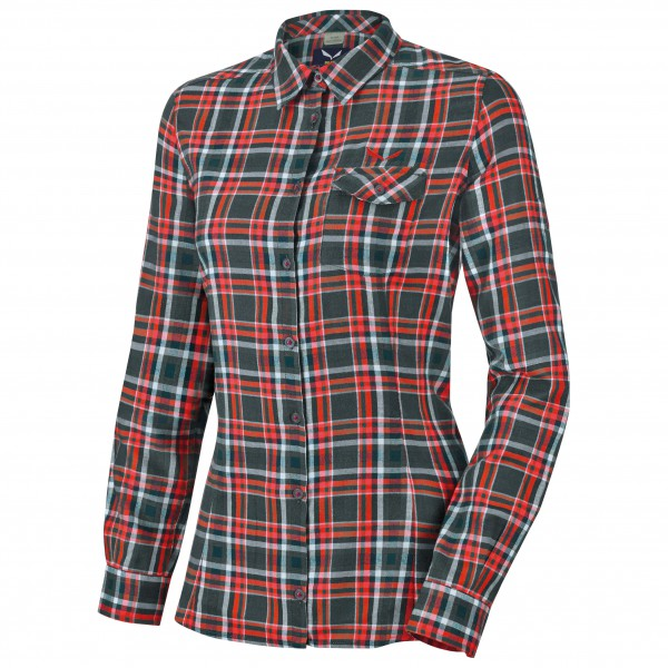 Salewa - Women's Fanes Flannel PL L/S Shirt - Chemisier