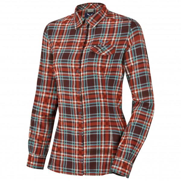 Salewa - Women's Fanes Flannel PL L/S Shirt - Bluse