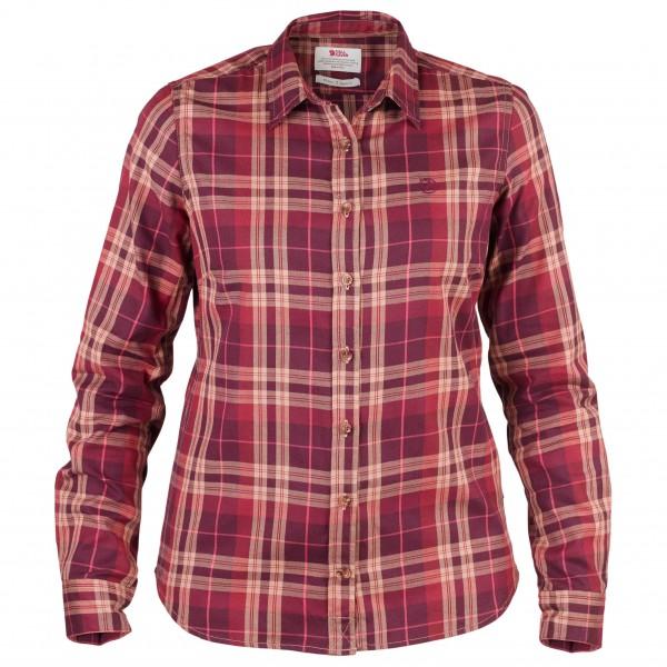 Fjällräven - Women's Övik Flannel Shirt - Blusar