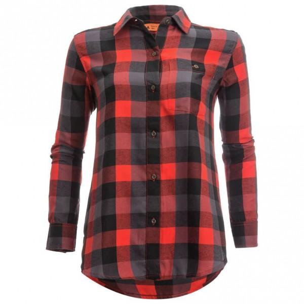Basin + Range - Women's Snow Creek Flannel Shirt - Blouse