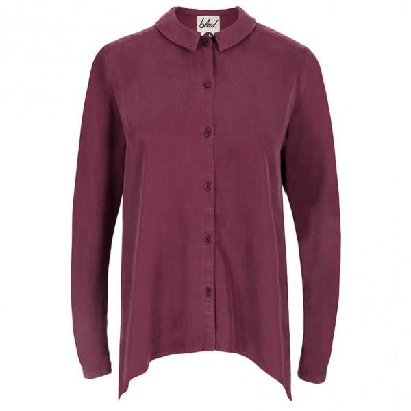 Bleed - Cold Dye Blues Damen - Overhemd