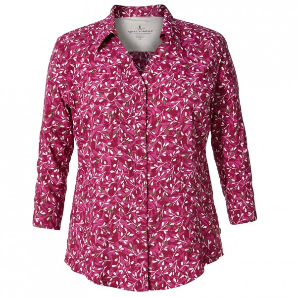 Royal Robbins - Women's Expedition Chill Print 3/4 - Blusar
